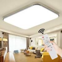 Rechteck 72W LED Deckenleuchte Dimmbar Deckenlampe Schlafzimmer Küche Panellampe