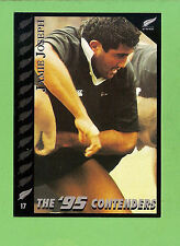 1995 NEW ZEALAND  ALL BLACKS RUGBY UNION CARD  #17  JAMIE  JOSEPH
