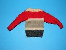 Vintage 1961-1964 Barbie Ken Campus Hero #770 Striped Sweater