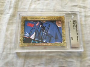 Matt Kenseth 2018 Leaf Masterpiece Cut Signature signed autographed card 1/1 JSA