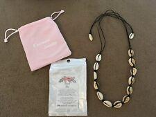 Handmade Cowrie Shell Boho Beach Cusvuevi Women's Natural Shell Choker Necklace,