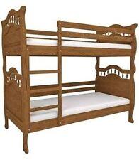 Bettgestelle ohne Matratze aus Massivholz mit Lattenrost 190 cm für Kinder