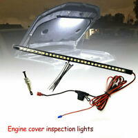 Universal Under Hood LED Light Kits - Automatic on/off fit for Any Vehicle White