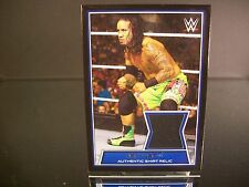 Insert Jey Uso WWE Wrestling Topps 2014 Event-Worn Authentic Shirt Relic