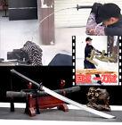 Chinese KungFu Qing Saber Jian WuShu Dao Sword Katana Sharp Outdoor Battle Knife