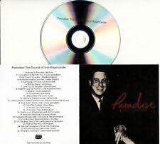 PARADISE THE SOUND OF IVOR RAYMONDE 2018 UK 26-trk promo test CD