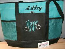 Nurse Life Personalized Tote Bag LPN, RN, CNA, HHA, BSN