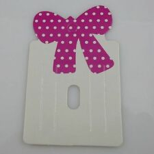 600PCS HOT Charm Bowknot Bow Hair Clip Hair Claws Hairgrips Hanging Card Display