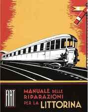 FERROVIE FIAT BREDA Alb48 Automotrice Littorina 1934 Manual Manutenzione - DVD