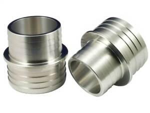 Revotec Aluminium Alloy Barbed Fuel Filler Hose Reducer 57>51mm (FR57-51)