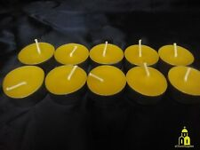24 pcs 100% Pure Natural Beeswax Tea Light Candles Handmade Free Shipping!