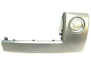 2014 FORD F150 RIGHT SIDE DASH TRIM PANEL WITH AIR VENT 9L34-15044B78 SILVER