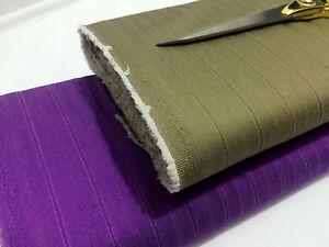 Designer Reversible Self Stripe Stretch Denim Dress/Skirt/Shirt/Crafts*FREE P&P