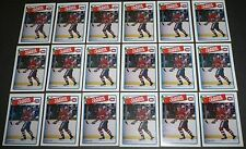 1988-89 Claude Lemieux 2nd Year '87 O-Pee-Chee OPC #227 NHL LOT of 18 Card NM EX