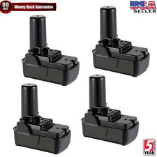 4x For Hitachi Bcl1015S battery 12V Li-Ion Fdb Fwh10Dcl 329369 Ds10Dfl Tool Pack
