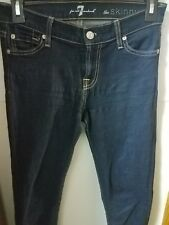 7 Seven For All Mankind The Skinny Stretch Jean - Size 25