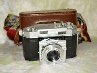 Vintage Agfa KARAT IV 35mm Rangefinder Film Camera Agfa Solinar 50mm f/ 1:2 Lens