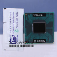 Free shipping Intel Core 2 Duo T7700 (SLA43 SLAF7) CPU Processor 2.4 GHz