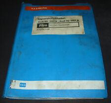 Microfich Audi 80 90 Typ 89 B3 Fahrwerk Frontantrieb Stand November 1988