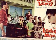 Lobby Card 1961 LADIES MAN Jerry Lewis lotsa girls