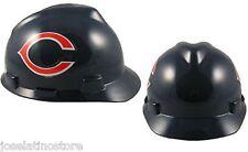 MSA V-Gard Cap Type Chicago Bears NFL Hard Hat Pin Type Suspension FAST SHIP