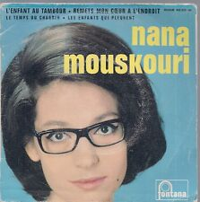 EP 4 TITRES--NANA MOUSKOURI--L'ENFANT AU TAMBOUR