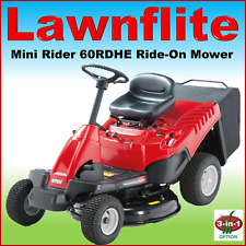 "Lawnflite Smart Mini Rider 60 RDHE 24"" Direct Collect Hydrostatic Ride-On Mower"