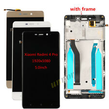 For Xiaomi Redmi 4 Pro LCD Display Touch Screen Digitizer + Frame Assembly 5.0""