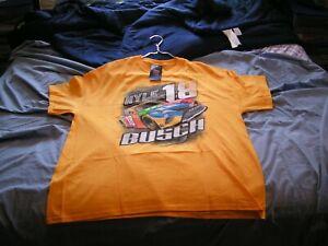 Kyle Busch #18 2020 Camber M & M's  T- Shirt Brand New