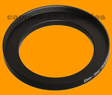 55mm to 72mm 55-72 Stepping Step Up Filter Ring Adapter 55-72mm 55mm-72mm