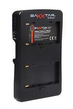 Baxxtar 2 Kanal V-Mount Adapter für Sony NP-F Serie z.B. NP-F990 NP-F970 usw..