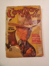 Cowboy Stories October 1936 v30 #4 Street & Smith Publications pulp very rare