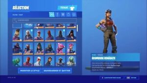 Compte fornite rare 150 skins
