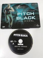 Pitch Black Las Chronicles de Vin Diesel Riddick Steelbook DVD Spanish English