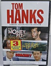Tom Hanks Comedy Favorites Collection  2 DVD's The Money Pit/The Burbs/Dragnet