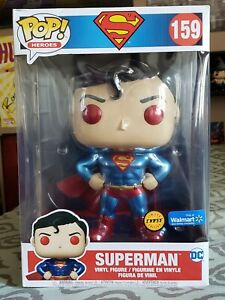 Funko Pop DC Superman 10 Inch Walmart Exclusive CHASE In Hand Ships Next Day