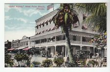 "[49728] OLD POSTCARD ""HOTEL PALMS"" in WEST PALM BEACH, FLORIDA"