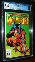 Wolverine Limited Series #4 1982 Marvel Comics CGC 9.6 NM+ White Pages