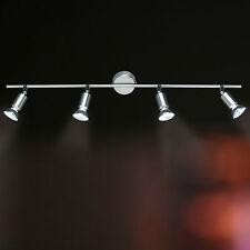Wofi Deckenleuchte Nini 4-flg Nickel Spots verstellbar Lampe 200 Watt 1320 Lumen