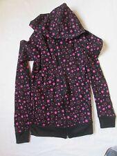 Sweats  à capuche motif étoiles FILLE - Taille S -  100% coton - NEUF