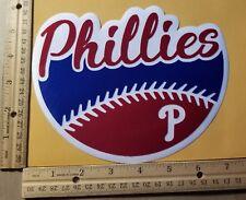 "HUGE PHILADELPHIA PHILLIES IRON-ON PATCH - 6.5"" x 7"""