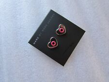 Marc by Marc Jacobs Earrings Round and Round Hole Hearted NEW $42