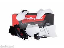 Kit plastiques Polisport  Couleur Blanc KTM SX 65 Année 2012 - 2015