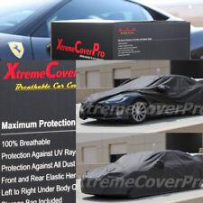 2015 TESLA MODEL S Breathable Car Cover w/Mirror Pockets - Black