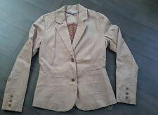 Ma veste somewhere neuve t 36 velours beige souple et douce , doublée