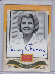 2012 Panini Golden Age Historic Signatures #14 Penny Chenery