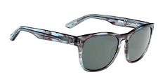 NEW Spy Beachwood Sunglasses-Grey Smoke-Happy Lens-SAME DAY SHIPPING!