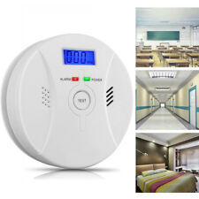 Combination Carbon Monoxide Smoke Alarm Battery Operate CO Smoke Detector