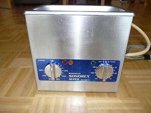 Ultraschallreiniger Bandelin Sonorex Super RK 102 H
