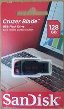 NEW SanDisk 128GB Cruzer Blade USB 2.0 CZ50 Flash Drive Memory Stick Pen drive